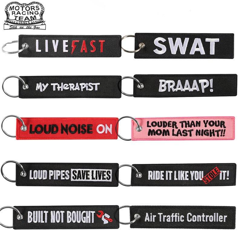 Luggage&bags Accessories Fashion Keychain Luggage Bag Tag Label Key Holder BRAAAP Key Chains FREEDOM KEY Keychains Aviation Tag