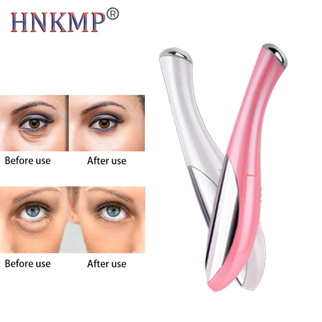 HNKMP Electric Vibration Eye Face Massager Anti-wrinkle Anti-aging Promote Nutrition Puffiness Removal For Eye Fatigue Beauty 1