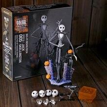 SCI-FI-figuras de acción de la pesadilla antes de Navidad, juguete de modelos coleccionables de PVC