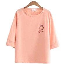 T-Shirts Summer T Shirt Women Casual Short Sleeve O-Neck