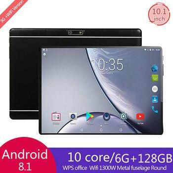 Versión Global de 10 pulgadas 4G LTE Tablet PC Dual Sim cámaras duales Android 9,0 Octa Core 6GB RAM 128GB ROM IPS 5G WiFi Bluetooth