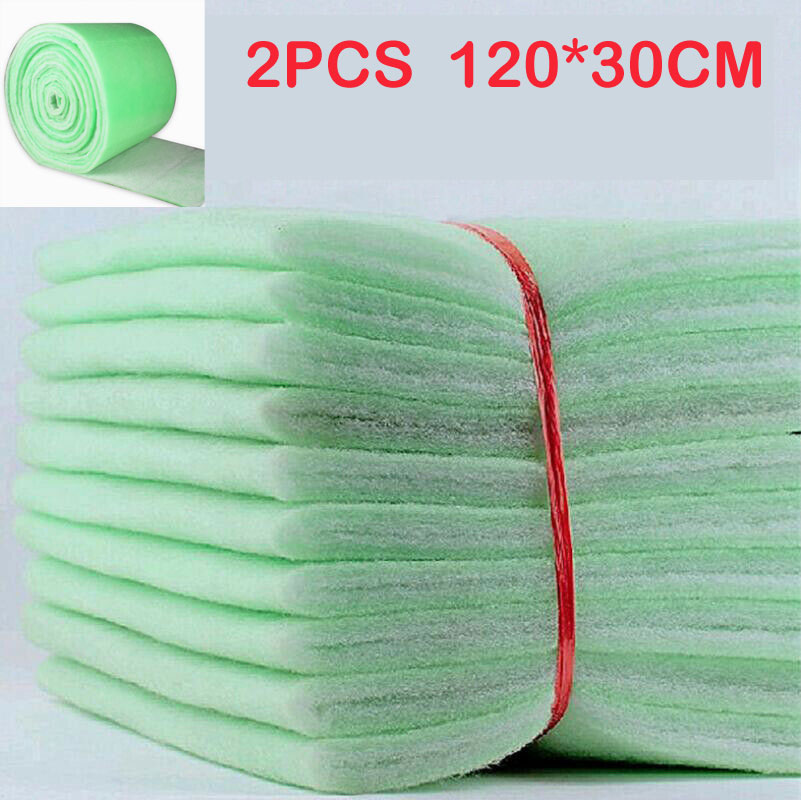 2PCS X Filter Foam Sponge Cotton Pad Mat Media For Aquarium Fish Tank Pond Pump