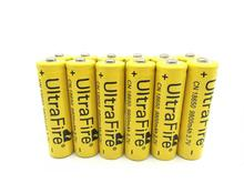 Free shippng 8Pcs 18650 Li-ion Rechargeable 3.7V 6800mAh Battery for Flashlight Newest