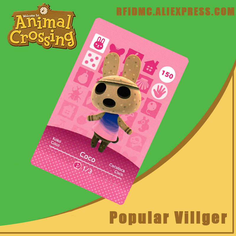 150 Coco Animal Crossing Card Amiibo For New Horizons