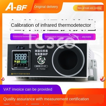 цена на Infrared thermometer gun calibration furnace black body radiation calibration source infrared calibration thermometer