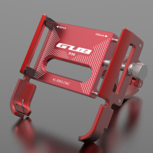 GUB P30 360 Rotating Bicycle Handlebar Mobile Phone Holders Mounts Stands Aluminum Motorcycle Bicycle Stand For Electric Bicycle