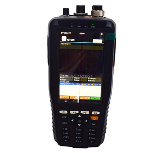 Image 3 - TM290 Touch Screen Smart OTDR 1310/1550nm with Built in VFL OPM OLS OTDR Optical Time Domain Reflectometer