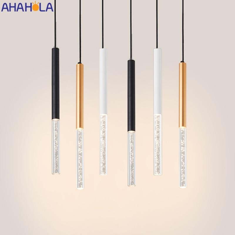 Lampe suspendue en fer, design nordique moderne, luminaire d'intérieur, idéal pour un Loft, une salle à manger ou une cuisine, un Bar, pendentif LED