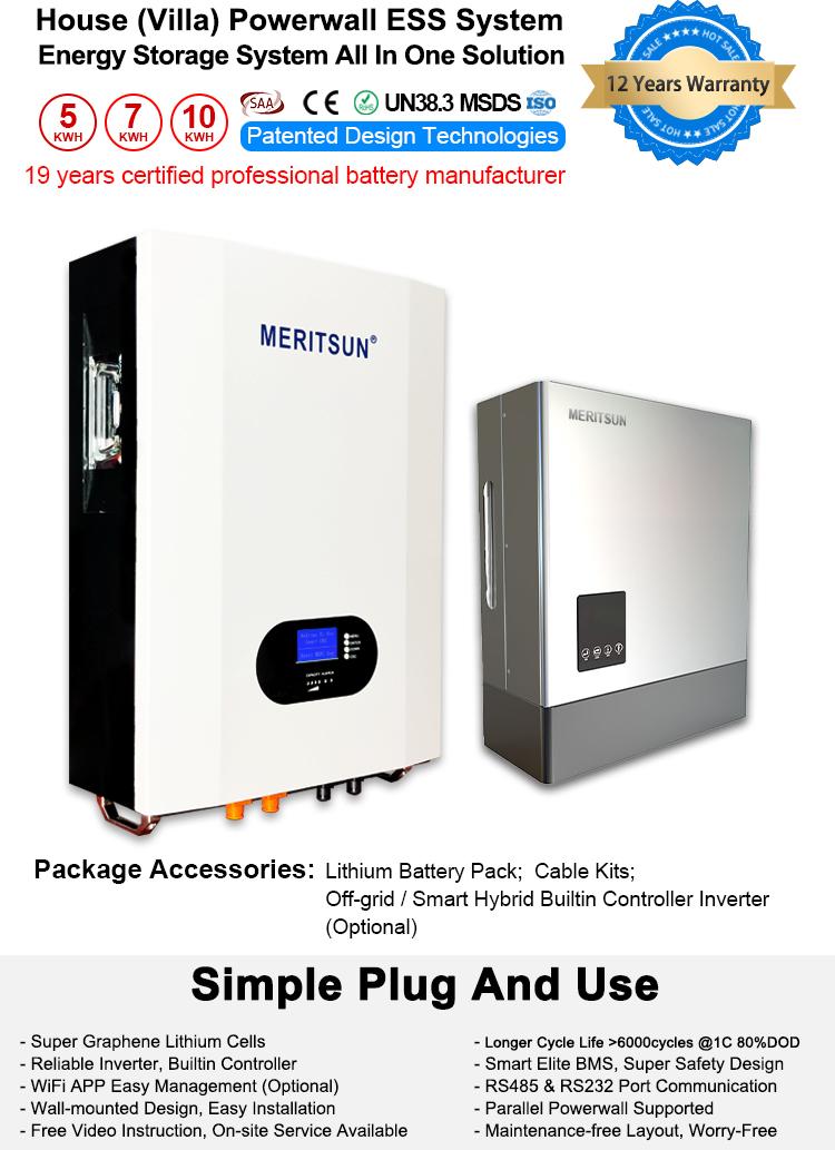Tesla Powerwall Hybrid Grid 48v Lifepo4 Lithium Ion Battery 10kwh Solar Home Energy Storage System Tool Parts Aliexpress