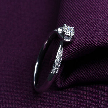 A Carat 18k Gold And White Gold Diamond Ring Platinum Gold Gold Wedding Marriage Couple On The Ring 3