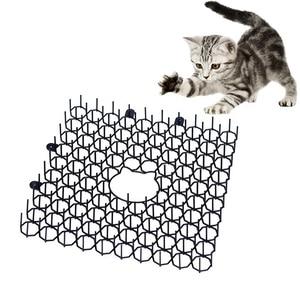Odstraszacz kotów ogrodowa mata dla kota z tworzywa sztucznego mata dla kota mata dla kota anty-kot podkładka z tworzywa sztucznego gwoździe ogrodowa narzędzia ogrodowe