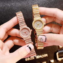 Luxury Crystal Women Wrist Watches Rose Gold Silver Steel Belt Watch Fashion Starry Diamond Ladies Quartz Clock relogio feminino все цены