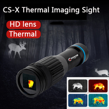 CS-X Термальность Imager для охоты на Ночное видение тепловизор для охоты прицел Термальность Imager Охота Термальность Сфера