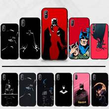 Batman Marvel Heroes Luxe Unieke Ontwerp Telefoon Cover Voor Iphone 5 5 5s 5c Se 6 6 S 7 8 plus X Xs Xr 11 Pro Max(China)