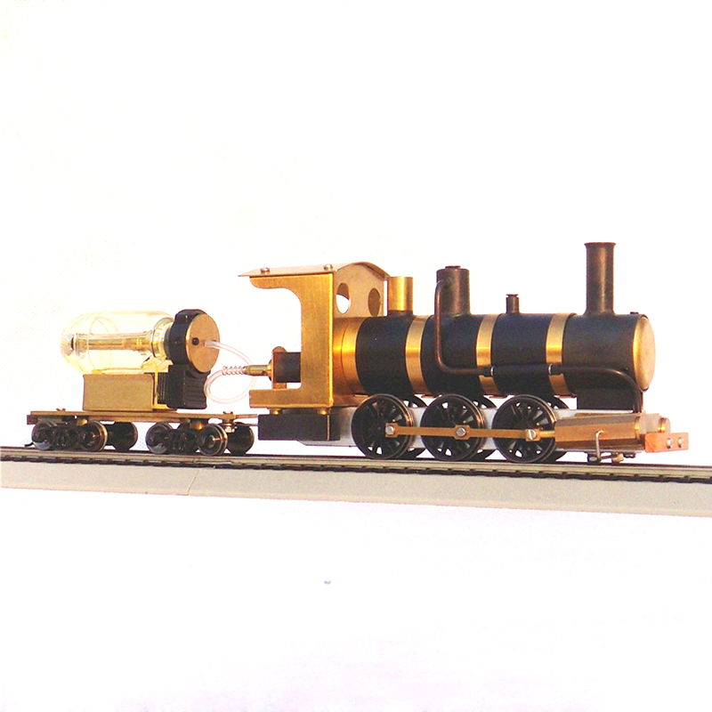 Image 3 - Steam Train Model Steam Locomotive Model Steam Drive HO Proportion Live Steam EngineModel Building Kits   -