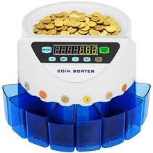 Compteur de pièces électronique automatique royaume-uni, 270 pièces/minute