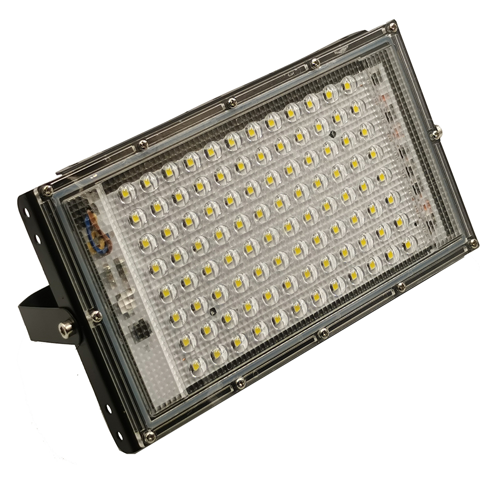 100W Led Flood Light RGB AC 220V 230V 240V Outdoor Floodlight Spotlight IP65 Waterproof LED Street Lamp Focus Landscape Lighting
