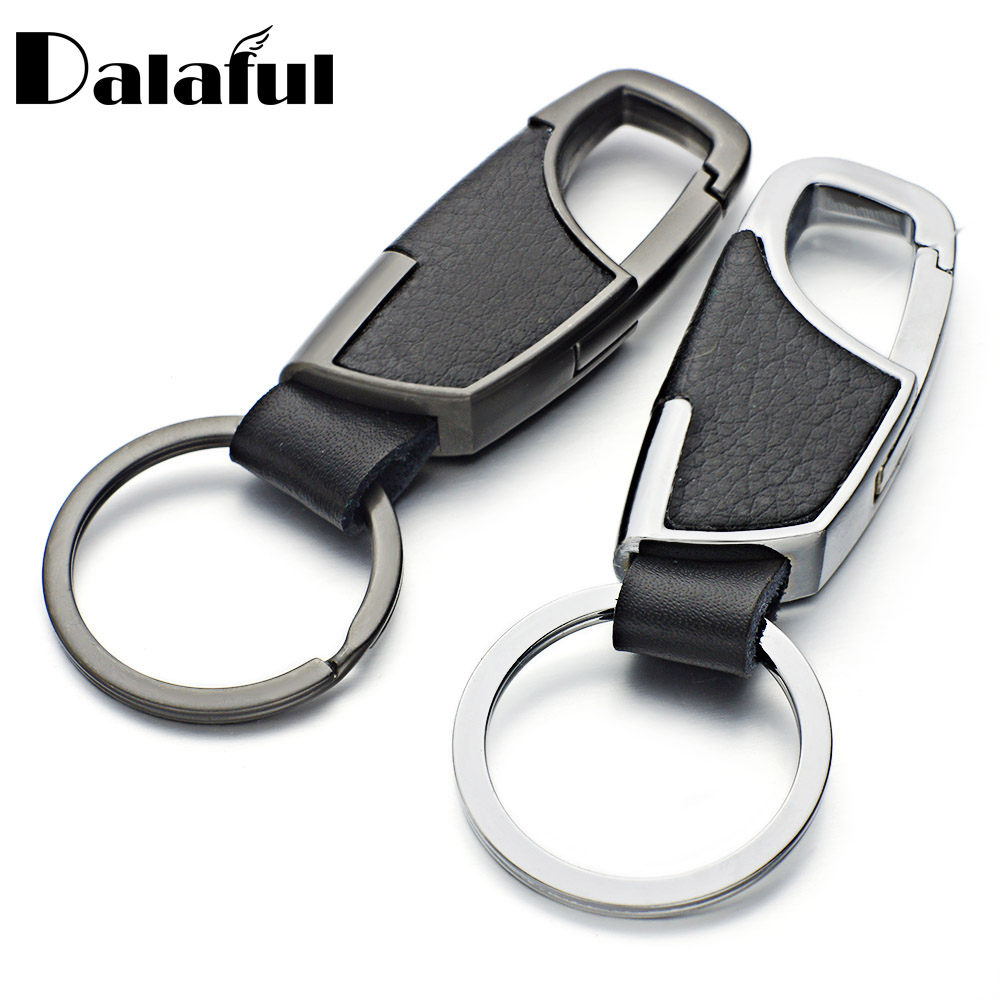 2020 New High Quality Leather Keyrings KeyChains For Car Chaveiro Innovative Key Chains Rings Holder For Man Best Gift K264