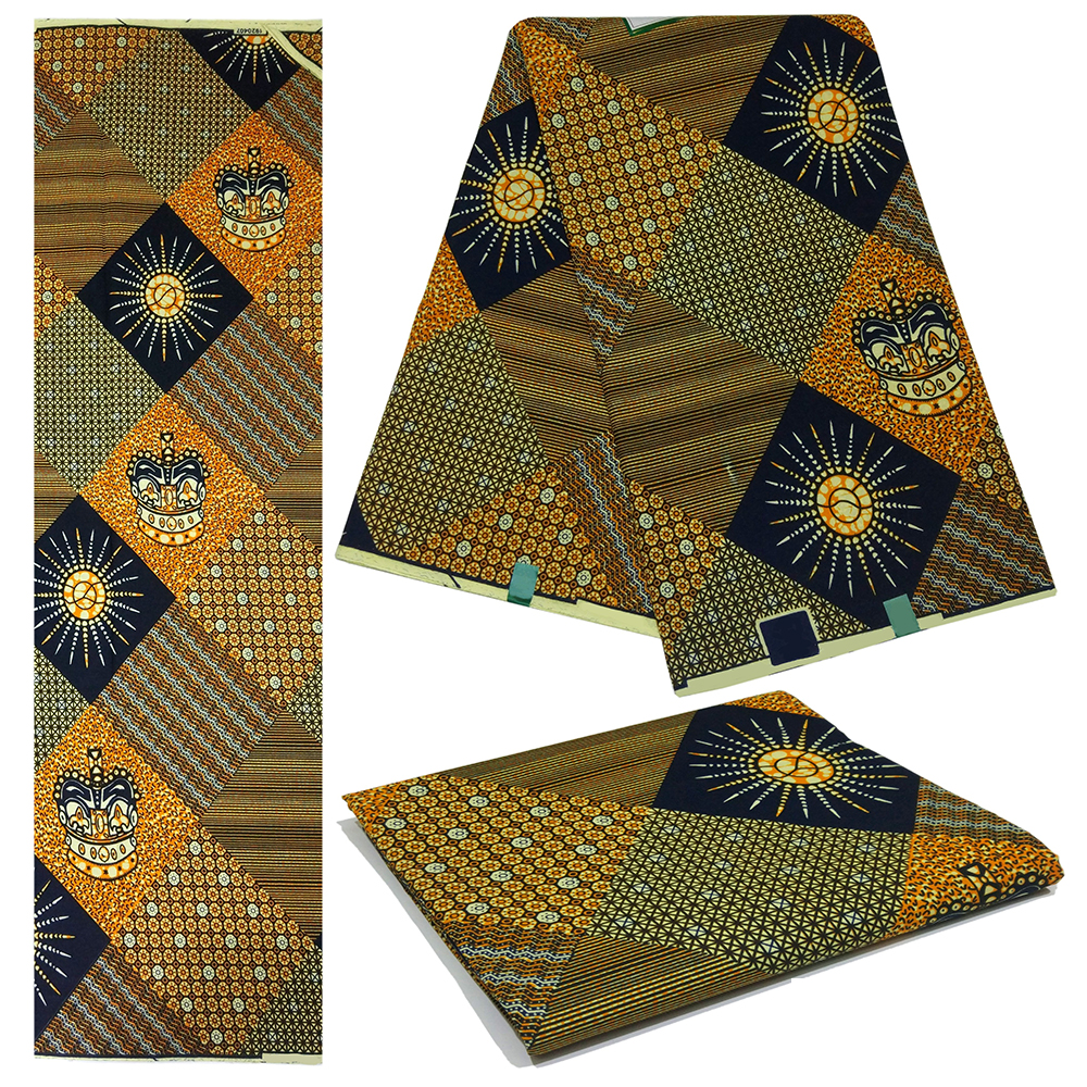 2019 New Arrival African Negaria Ankara Guaranteed Wax nederland java print Fabric 6Yards