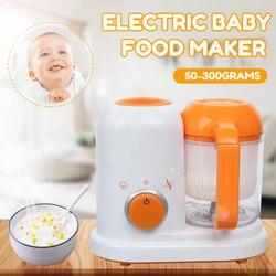 Batidora eléctrica para alimentación de bebés, batidora de frutas y verduras, multifunción, procesador de vapor de alimentos para niños