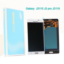 Super AMOLED Galaxy J3110 LCD touch digitizer sensing unit display for SAMSUNG J3