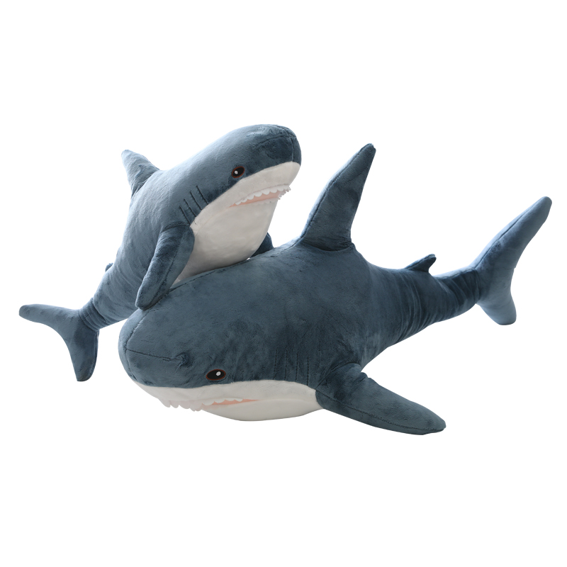 Soft Toy Shark Big Size Funny Soft Bite Shark Plush Toy Pillow Appease Cushion Gift For Children Shark Stuffed Toy