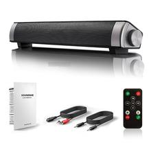 Remote Sound Blaster Bluetooth Speaker TF Memory Card Wireless Audio Subwoofer System Stereo Music Surround