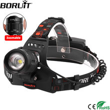 boruit rj 5000 xml t6 r2 headlight 4 mode headlamp power bank head torch hunting camping flashlight 18650 battery light BORUIT RJ-2157 XML L2 LED Zoomable Headlight 5-Mode Headlamp Power Bank USB Charger 18650 Head Torch Camping Hunting Flashlight