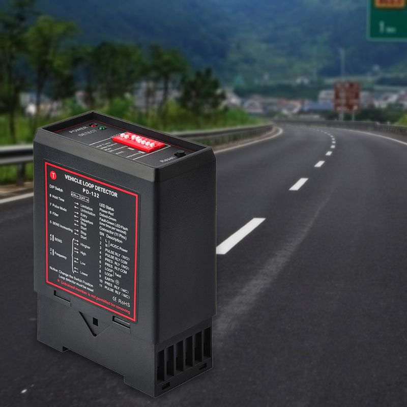 Detector indutivo do laço do veículo para o detector pd132 63hf do laço do veículo do estacionamento do carro