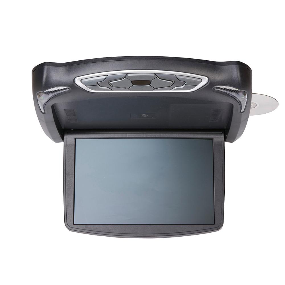 13,3 дюймов Автомобильный DVD плеер HD откидной вниз Авто верхняя крыша флип вниз тонкий верхний DVD плеер широкоугольный монитор