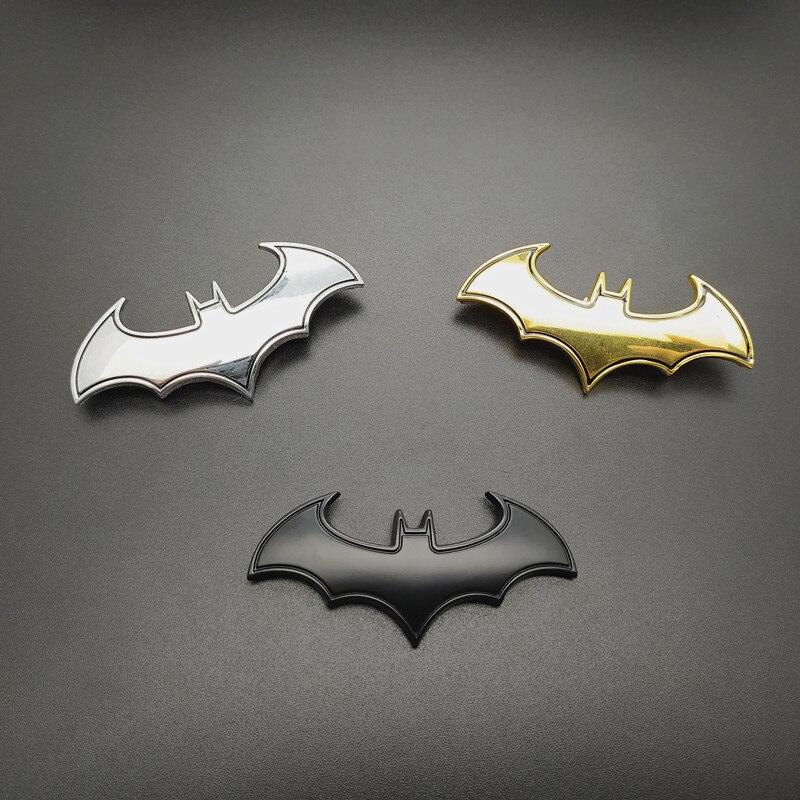 Metal 3D Batman Superman Logo Dawn of Justice Car Emblem Badge Decal Sticker