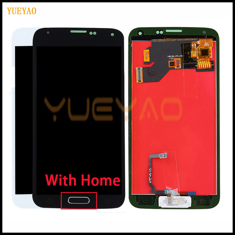 New LCD For Samsung S5 G900F Display LCD Screen Touch Digitizer Assembly Compatible for Samsung Galaxy S5 G900 G900F LCD(China)