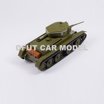 1:43 Scale Alloy Toy Soviet Union BT-5 Light tank Model Of Children's Toy Container Original Authorized Authentic Kids Toys