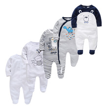Rompers Pyjamas Onesies Bebe Baby Baby-Boys-Girls Infant Cotton Fille Soft Breathable