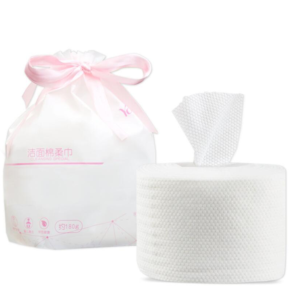 Soft Face Towel Roll Makeup Remover Cotton Pad Cleansing Wipes Skin Care Facial Dry Tissue For Sensitive Skin