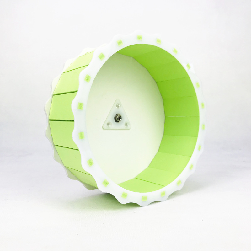 Hamster Exercise Running Wheel Silent Cage Cute Small Animal Squirrel Chinchilla Little Mouse Playground Sports Toy Pet Supplies
