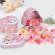 Disney 10PCS Children's Cartoon Rings Frozen Princess Candy Animal Mix Bow Shape Ring Girl Jewellery Plastic Rings Kid Toys Gift