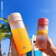 Simple cup leak-proof cup student portable plastic cup flower fruit cup heat-resistant anti-fall portable viscosity cup 4 zahn cup