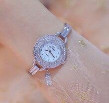 Luxury Silver Women Watches Top Famous Brand Casual Quartz Watch Women Waterproof Stainless Steel Bracelet Wrist Watches Relogio цена