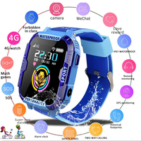 New Children smart watch Remote Camera Monitor GPS WIFI Tracker Location Kid Child Student 4G Phone watches SOS Video Call
