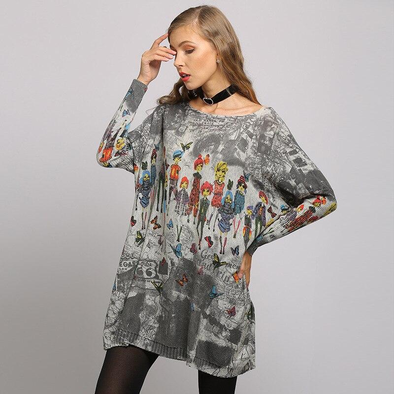 camiseta bat manga knitted pulover camisola feminina 02