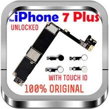 "Fabbrica sbloccata per IPhone 7 Plus con/senza Touch ID No iCloud Mainboard 100% originale per IPhone 7 Plus 5.5 ""scheda madre"