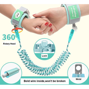 Image 1 - Baby Harness Anti Lost Wrist Link Kids Outdoor Walking Hand Belt Band Child Wristband Toddler Leash Safety Harness Strap Rope