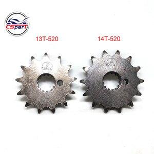 NC250 13T 14T 520 Sprocket 250CC ZongShen ZS177MM xmotos apollo KAYO T6 BSE 250 4 valve dirt pit bike(China)
