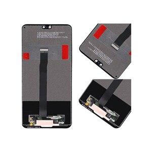 "Image 2 - HUAWEI Original 5.8 ""P20 LCD Display Touchscreen Digitizer Für Huawei P20 Display mit Rahmen EML L29 EML L22 EML L09 EML AL00"
