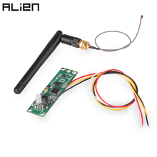 ALIEN 2.4Ghz Wireless DMX 512 Transmitter Receiver PCB  2 in 1 Module Board with Antenna for DMX Stage Lighting Controller