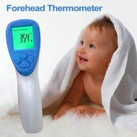 Electronic Thermometer Forehead Ear Thermometer Digital Infrared Thermometer Body Temperature Measuring Tool for Kids Adults