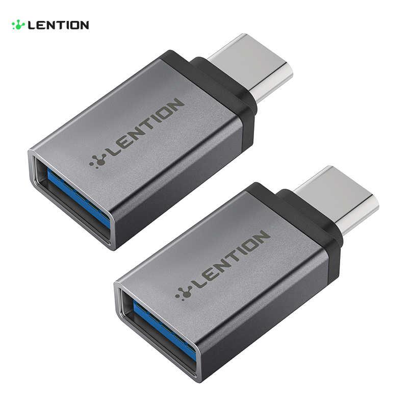 USB-C ל-usb 3.0 מתאם, להמיר סוג-C להקליד-כבל תואם MacBook Pro 13/15 (Thunderbolt 3 יציאת), 2018 2019 Mac אוויר/iPad פרו