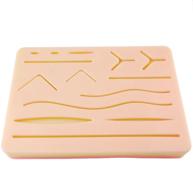Medical Skin Suture Surgical Training Kit Pad Suture Training Kit Suture Pad Trauma Accessories For Practice And Training Use