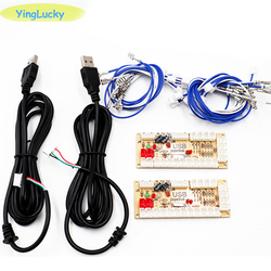 20 Pcs Zero Vertraging Arcade Diy Kit Usb Encoder Pc Joystick Voor 4way & 8way Zippy Joystick & Arcade knop